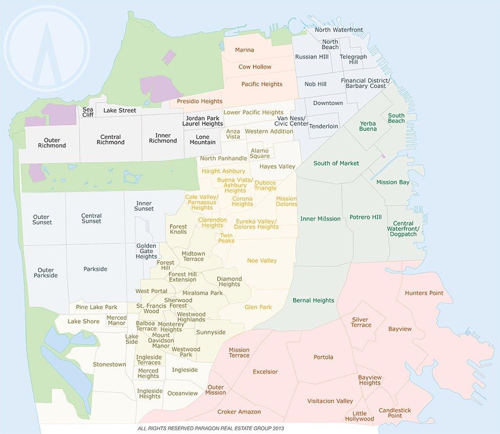 San Francisco Demographics by Zip Code | Helena 7x7 Real
